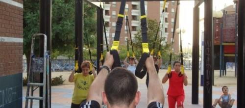 TRX en el parque (2)