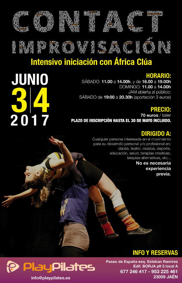 Iniciación a la Danza Contact Improvisación